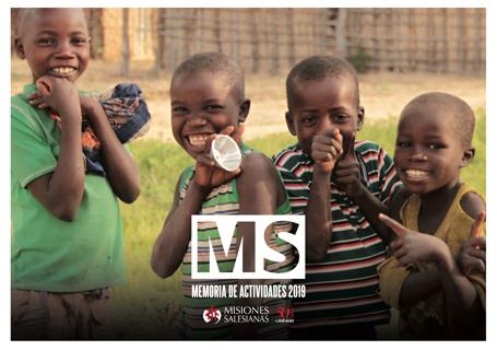 Memoria Actividades 2019 - Misiones Salesianas