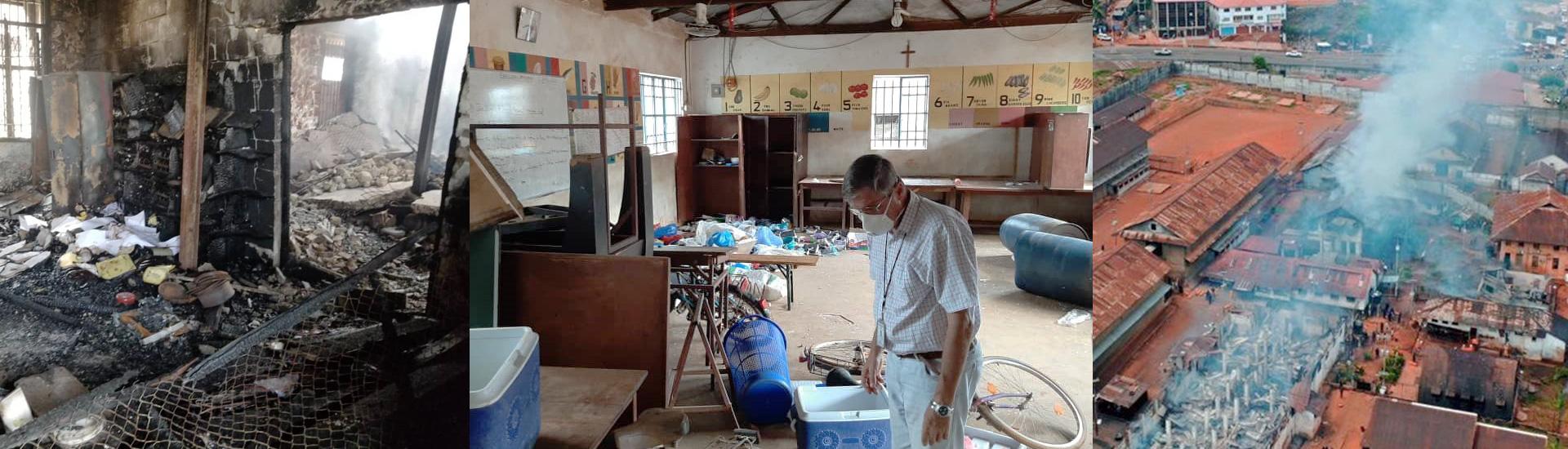 El trabajo de Don Bosco en la cárcel de Sierra Leona: empezar de cero en medio del coronavirus y tras un grave motín