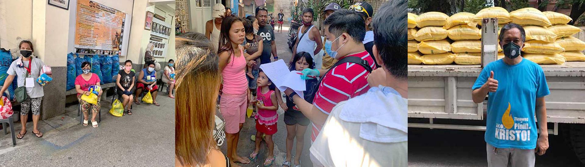 Don Bosco Tondo, la salvación ante el coronavirus para muchas personas en Filipinas