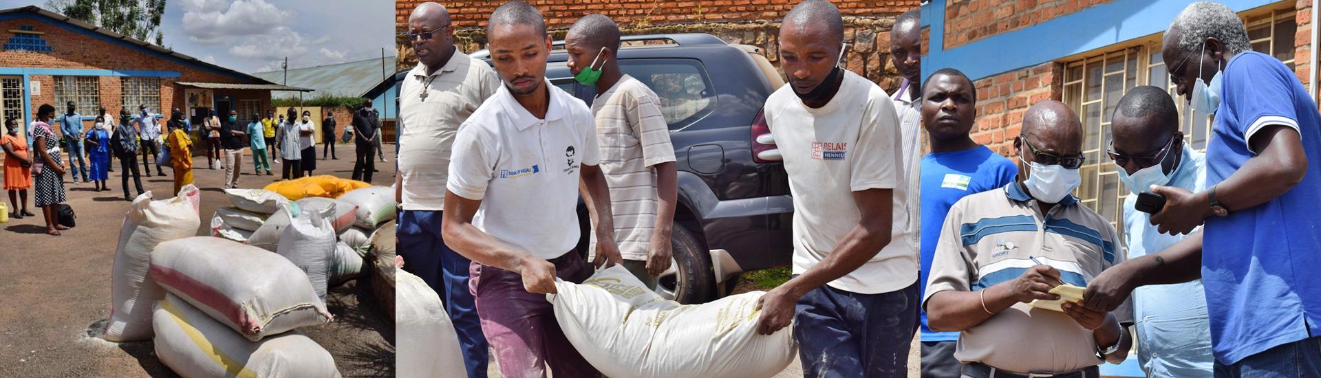Asistencia a los profesores y a las familias de los centros salesianos de Ruanda durante la pandemia