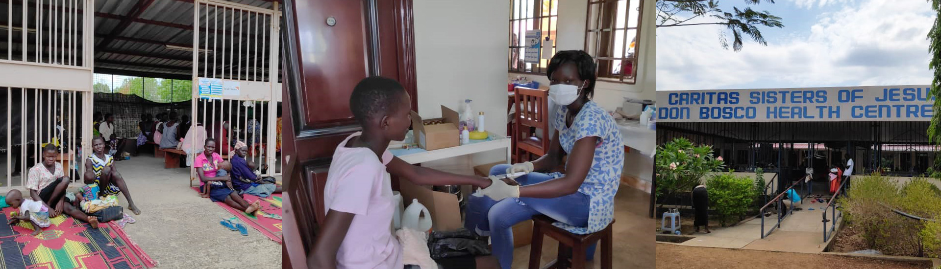 Atención diaria a 10.000 desplazados en el asentamiento de Gumbo (Sudán del Sur) durante la pandemia