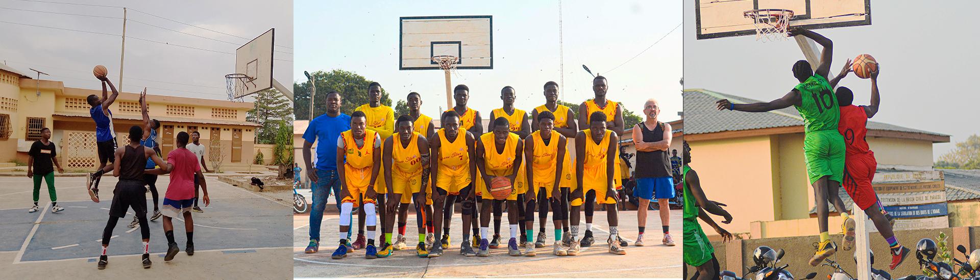 Bosco Star el club de baloncesto de los Salesianos en Parakou que gana campeonatos nacionales en Benín