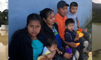 Construcción de viviendas en Guatemala tras el paso de los huracanes