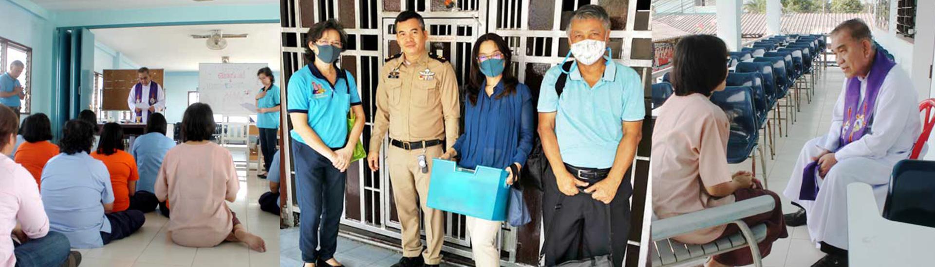 Atención y acompañamiento salesiano en las cárceles de Tailandia