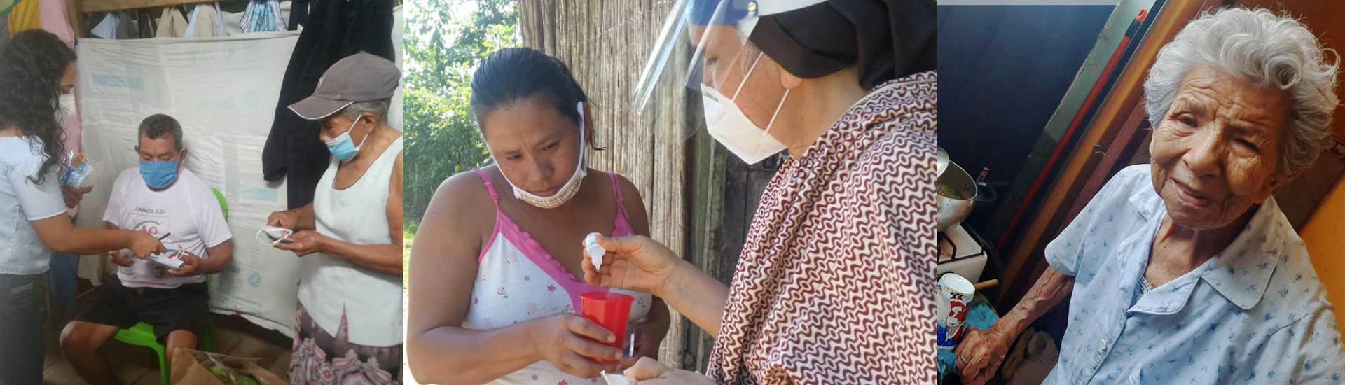 La solidaridad salesiana salva la vida de más de 700 personas de comunidades humildes de Perú durante la pandemia