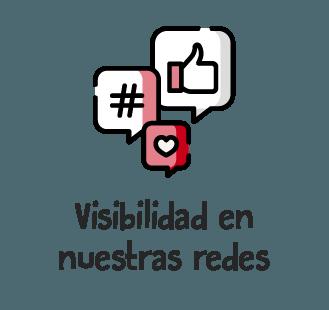 Visibilidad redes sociales