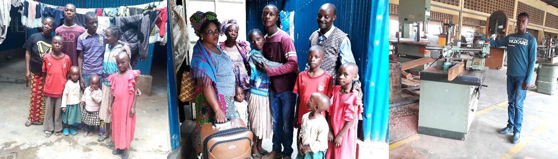 Daniel y Jean Claude, dos historias de acogida, esperanza y reunificación familiar para los niños de la calle en RD Congo