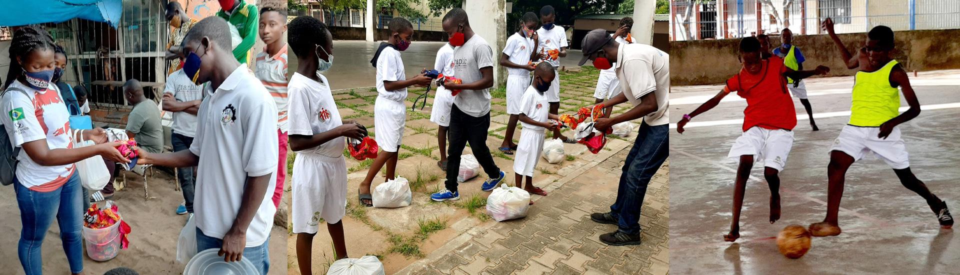 La solidaridad, ingrediente fundamental en la Escuela Sociodeportiva del Real Madrid Don Bosco-Maputo