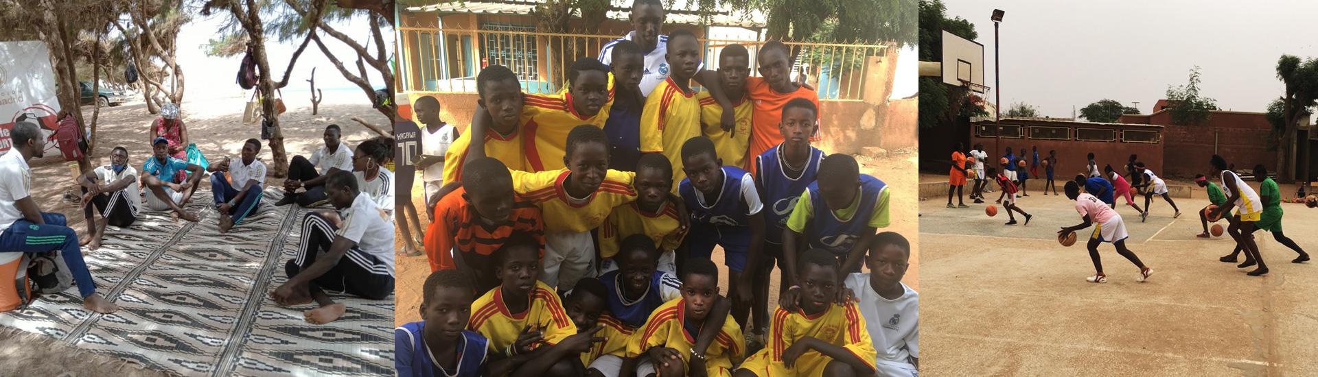 Estudio y deporte, señas de identidad en las dos escuelas sociodeportivas Don Bosco del Real Madrid en Senegal
