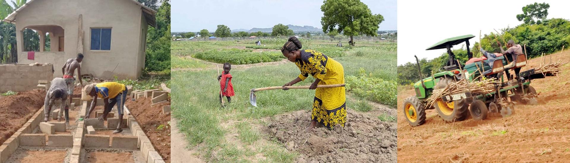 La Granja San José, un centro de formación, investigación y producción agrícola y ganadera en el sur de Nigeria