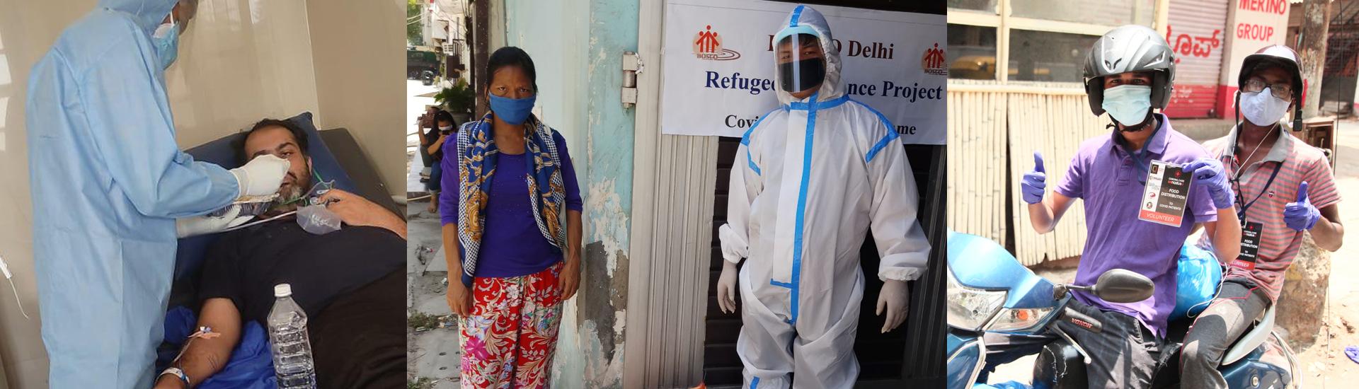 La ayuda salesiana en India intenta llegar a los más desfavorecidos mientras el coronavirus sigue fuera de control