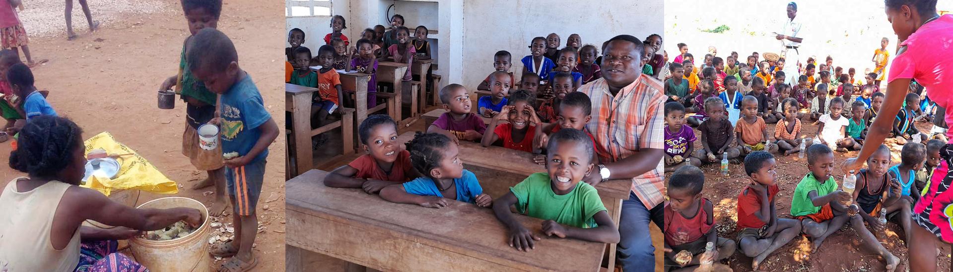 Andafitrazo y Matsà, la vida en medio de las dificultades por la pandemia y la sequía de dos pueblos malgaches