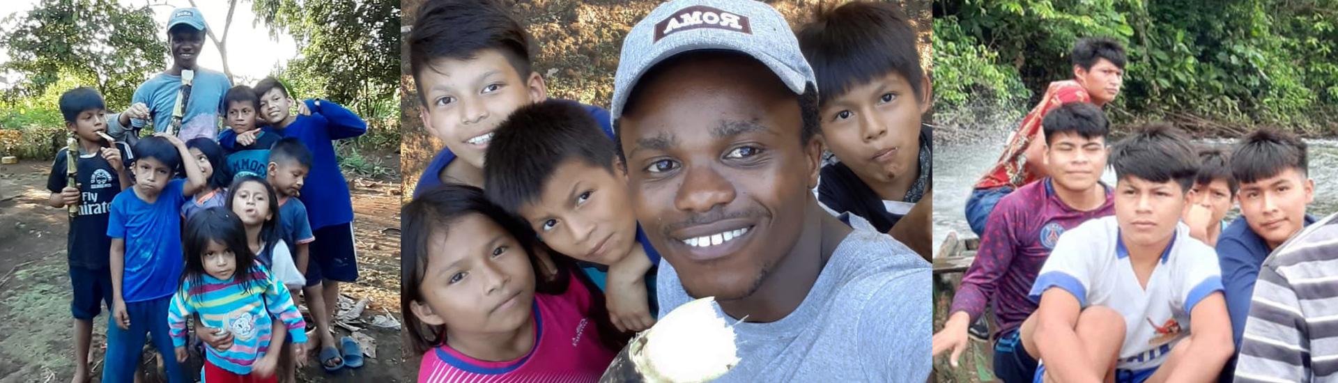 El sueño misionero de un joven salesiano de RD Congo en la selva ecuatoriana