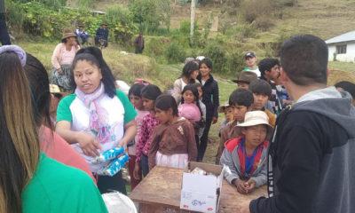 Ayuda a 300 familias campesinas por el Covid en Bolivia