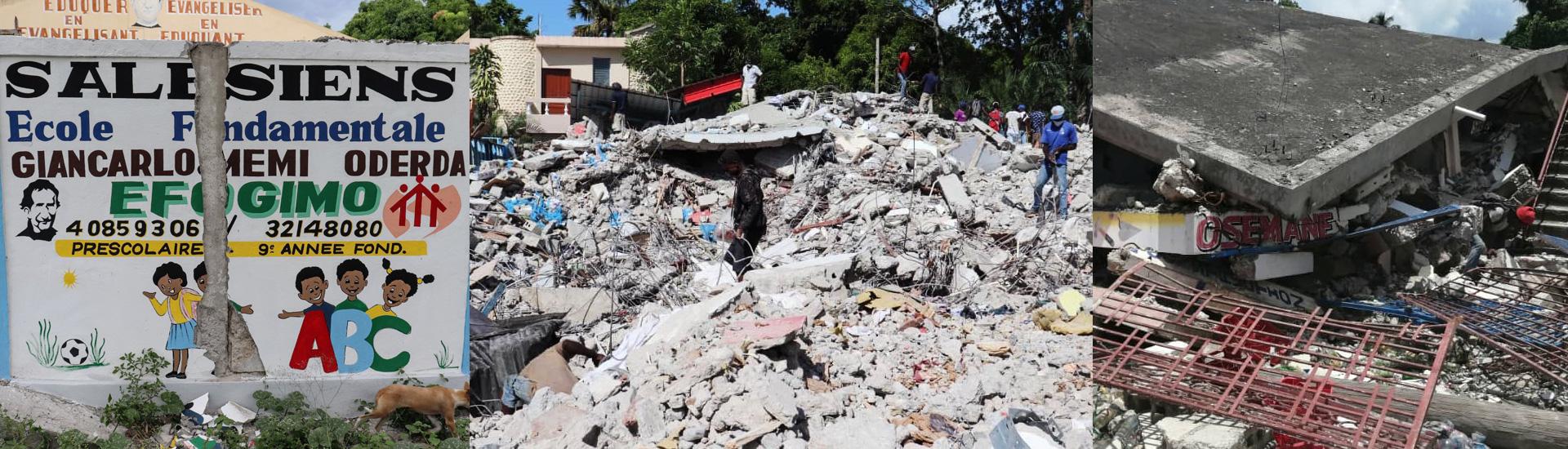 La ayuda de emergencia salesiana empieza a repartirse entre los damnificados por el terremoto en Haití