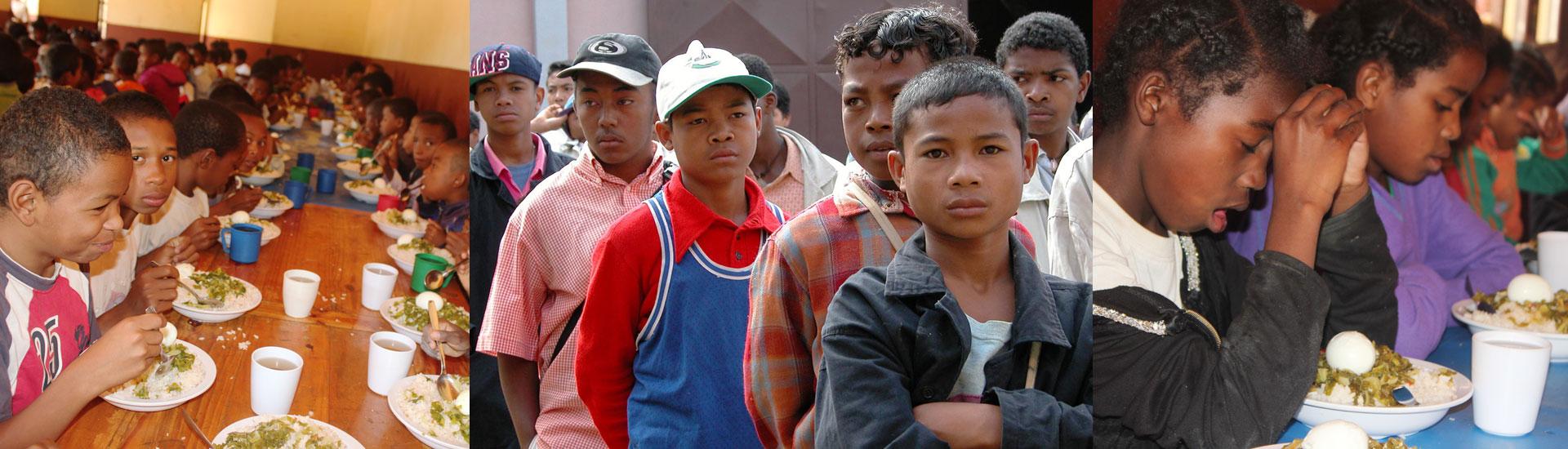 Alegría, comida y esperanza para los niños y jóvenes privados de libertad en Madagascar