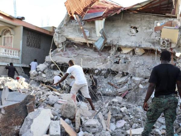 Terremoto en Haití. Asistencia sanitaria y alimenticia para 400 familias afectadas