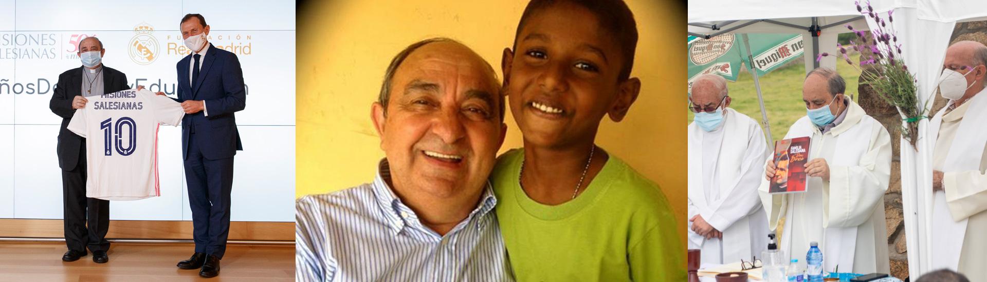Eusebio Muñoz Ruiz, una vida por y para la Familia Salesiana. ¡Descansa en paz!