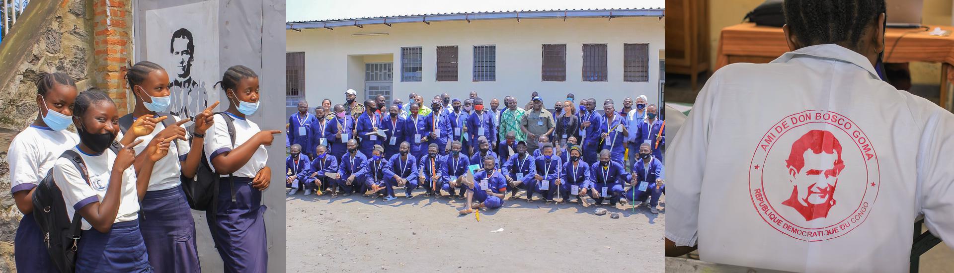 La obra salesiana de Don Bosco Ngangi, en RD Congo, contribuye a la pacificación de la región de Kivu