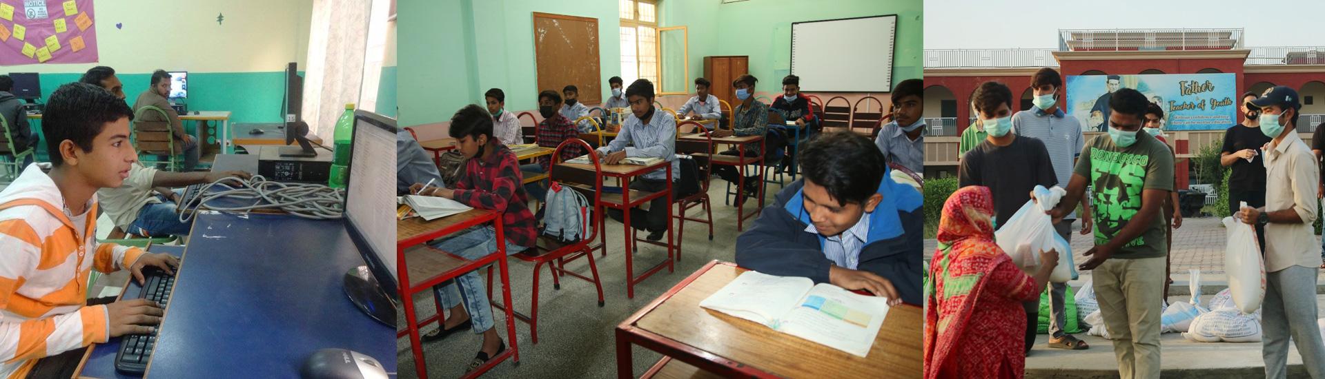 Educación salesiana de excelencia en Pakistán en medio de las dificultades